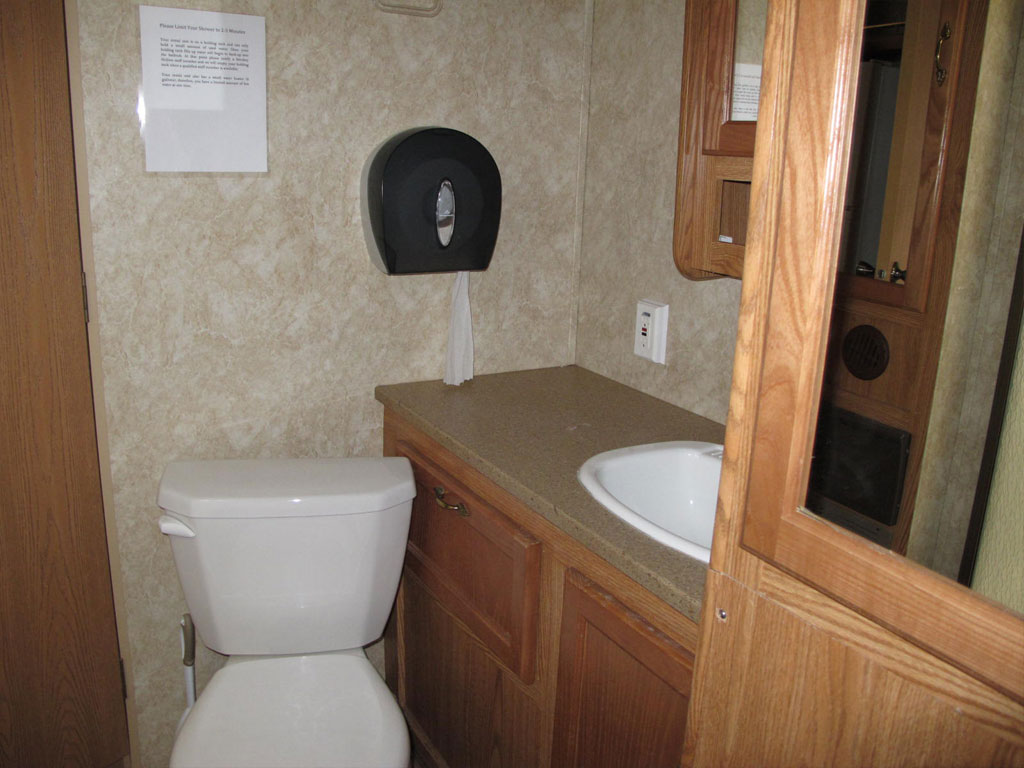 Travel trailers smokey hollow campground for 2 bathroom travel trailer