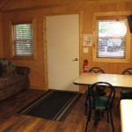 Deluxe Cabin-R16-interior-living-dining-area