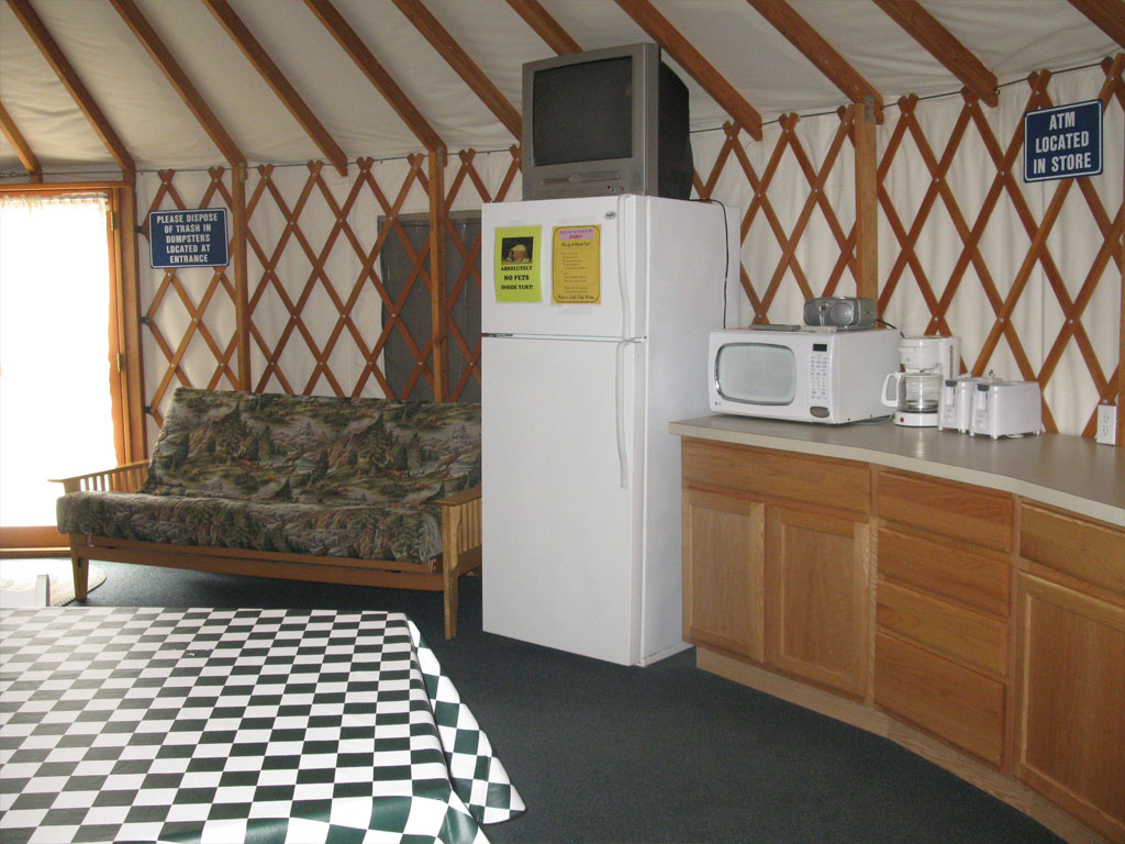 Tour Bus For Sale >> Yurts | Smokey Hollow Campground