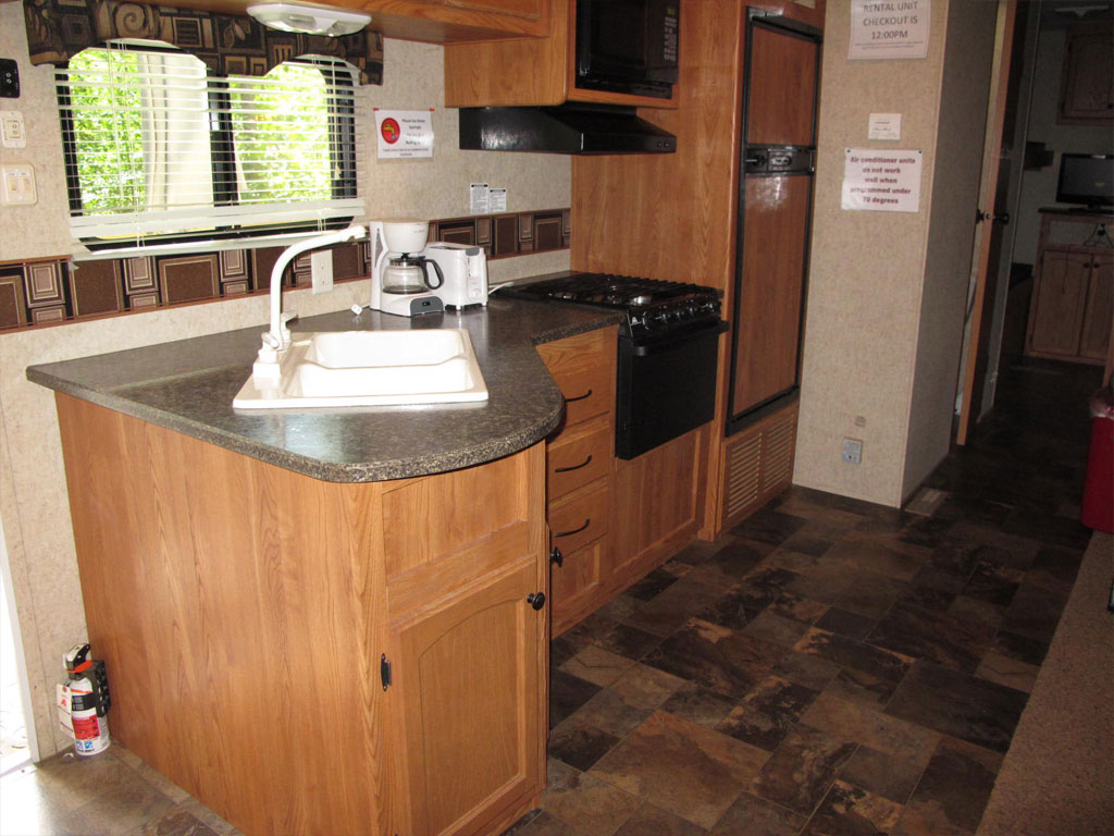 Travel Trailer 1 Kitchen