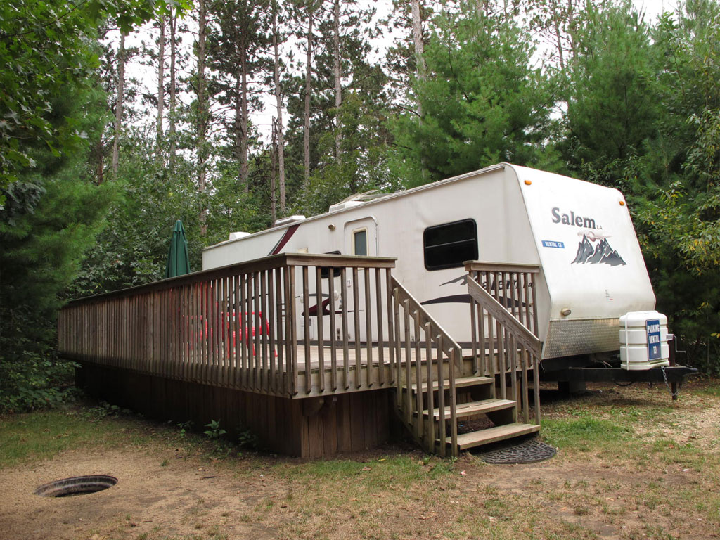 Travel Trailers Smokey Hollow Campground