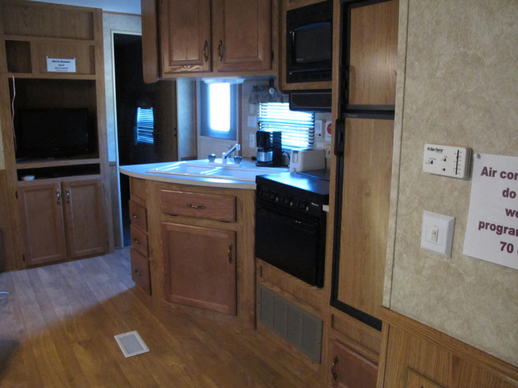 Travel Trailer 5 Kitchen