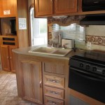 Travel Trailer 8 Kitchen